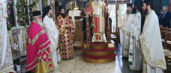 Λαμπρή Εορτή του Οσίου Σεραφείμ του Δομβοΐτου στην γενέτειρά του, το Ζέλι Αταλάντης