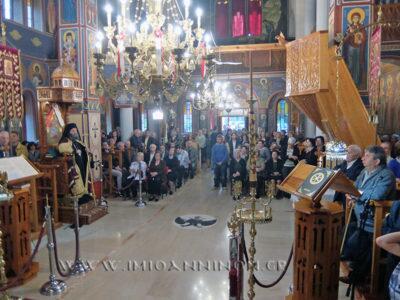 Ο Εορτασμός του Αγίου Ιωάννου του Θεολόγου στη Μητρόπολη Ιωαννίνων