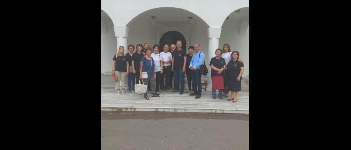 Μέλη του Πολιτιστικού Συλλόγου ΄΄Καλλίχορος Λαμίας΄΄ στο Γηροκομείο Στυλίδος