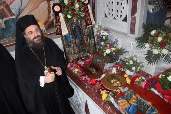 Ολοκληρώθηκαν οι λατρευτικές Συνάξεις για την μνήμη του Αγίου Οσιομάρτυρος Νικολάου του εν Βουναίνη, του αιματοβλύτη