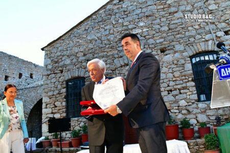 Ναύπλιο: Στον Πρόεδρο της Δημοκρατίας απονεμήθηκε το Αριστείο Πολιτειακής Αξίας «Ιωάννης Καποδίστριας»