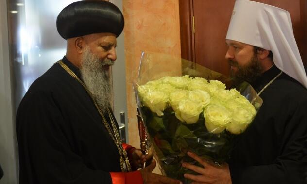 Ιστορική επίσκεψη του Πατριάρχη Αιθιοπίας στην Ορθόδοξη Εκκλησία της Ρωσίας