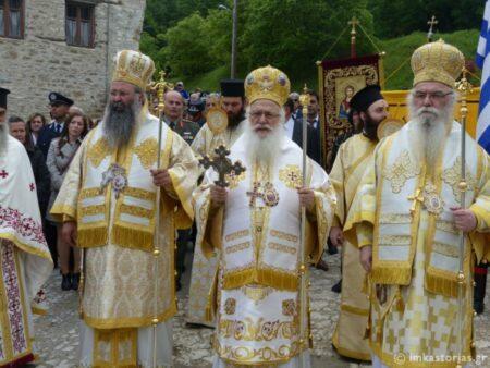 Λαμπρός Εορτασμός στη Μονή που ασκήθηκε και αγίασε η Οσία Σοφία της Κλεισούρας