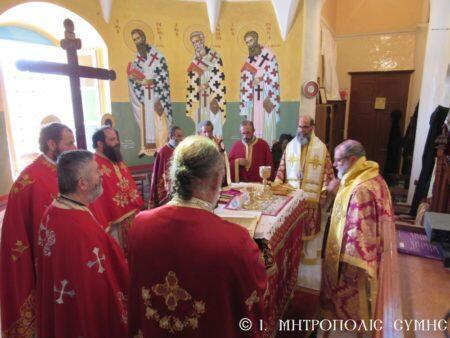 Με λαμπρότητα πανηγύρισε η ιστορική Ενορία του Αγίου Αθανασίου Σύμης