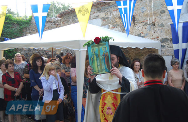 Σπάρτη: Πλήθος πιστών στα Ματαλέικα για την εορτή των Αγίων Κωνσταντίνου και Ελένης