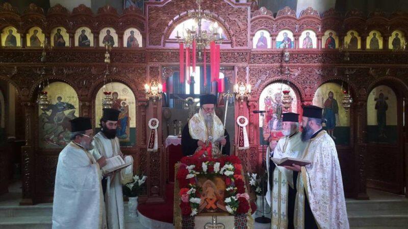 Γρεβενά: Εορτή της Αναλήψεως του Κυρίου στην Κνίδη