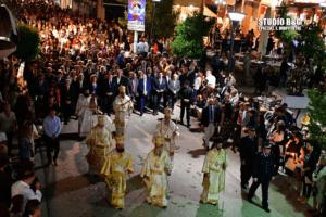 Άργος: Χιλιάδες πιστοί στους εορτασμούς για τον Άγιο Πέτρο τον Θαυματουργό