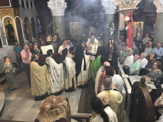 Λάρισα: Ο Μετεώρων Θεόκλητος στην Εορτή των Αγίων Κωνσταντίνου και Ελένης (ΦΩΤΟ)
