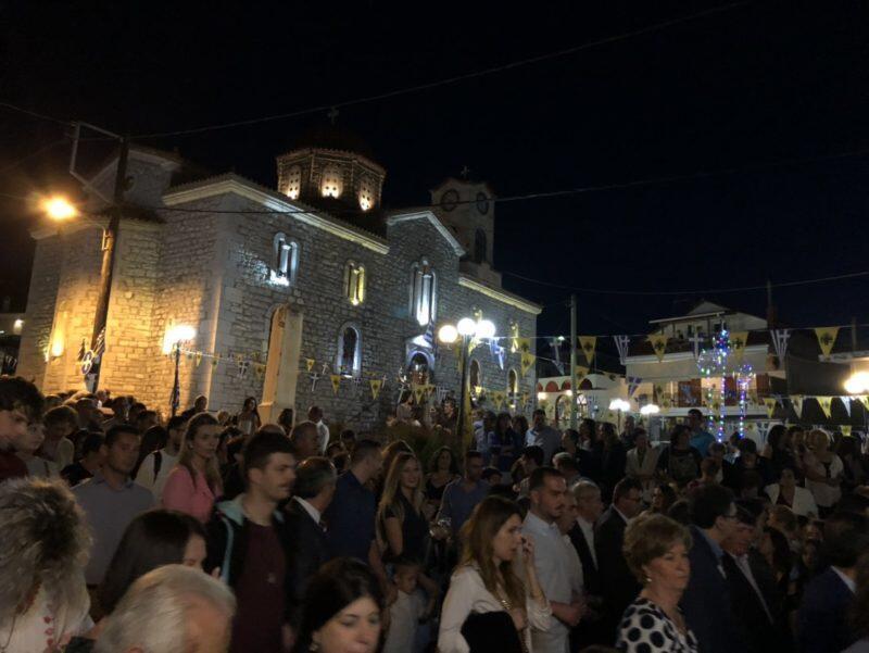 Ψυχοσάββατο, Εορτή Πεντηκοστής και Αγίου Πνεύματος στη Μητρόπολη Θηβών