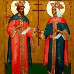 Αγιοι Κωνσταντίνος και Ελένη: Θαυμαστή εμφάνιση της Αγίας Ελένης