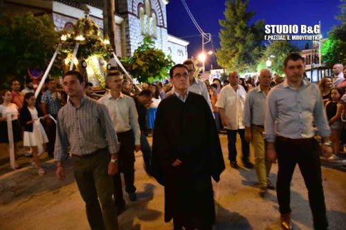 Η εορτή του Αγίου Πνεύματος στην Αγία Τριάδα (Μέρμπακα) του Δήμου Ναυπλιέων