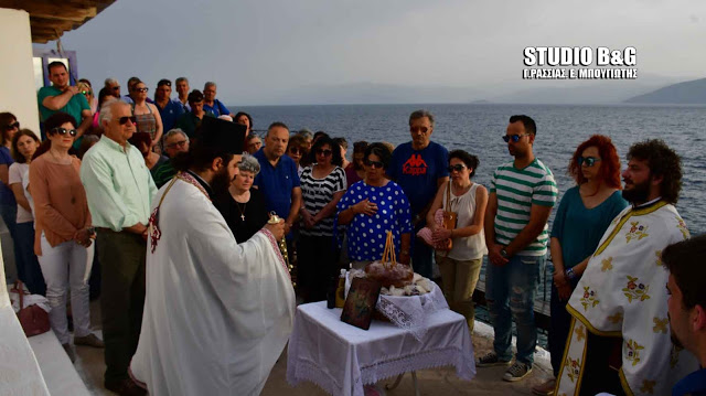 Ναύπλιο: Εσπερινός και λιτανεία της Εικόνας στο γραφικό εκκλησάκι του Αγίου Νικολάου στην Καραθώνα
