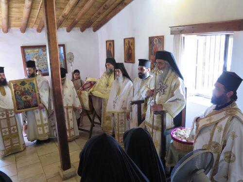 Πανήγυρις του Αγίου Πνεύματος στην Ιερά Μονή Αγίου Νικολάου παρά την Ορούντα 2018