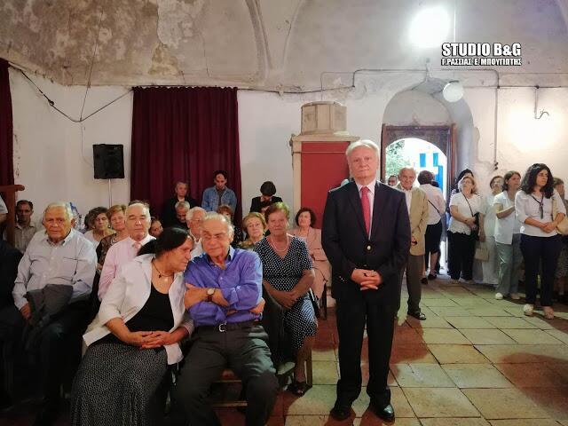 Κωνσταντίνου και Ελένης - γιορτή: Πλήθος κόσμου στον Ιστορικό Ναό Κωνσταντίνου και Ελένης στο Άργος