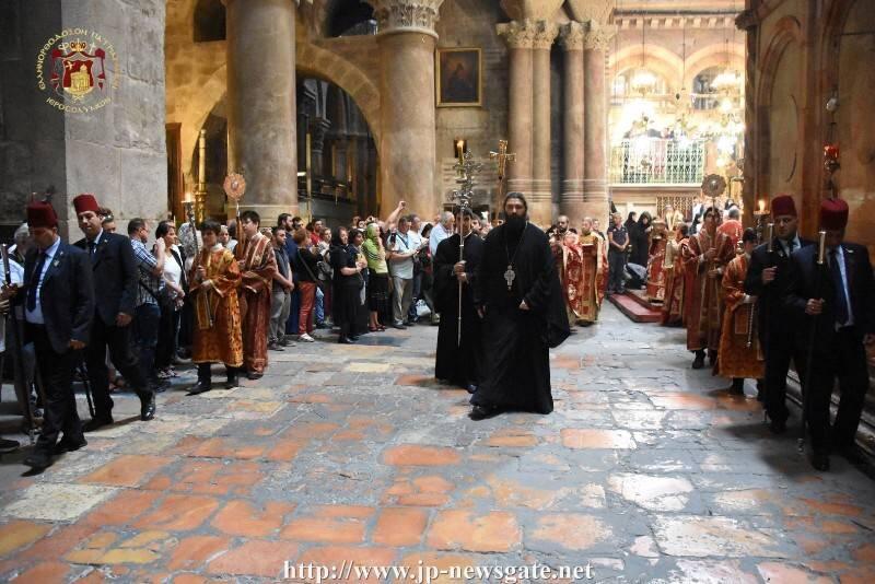 Η Εορτή της Πεντηκοστής στο Πατριαρχείο Ιεροσολύμων
