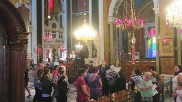 Παράκληση υπέρ ενισχύσεως των μαθητών στις Πανελλαδικές στη Μητρόπολη Σύρου