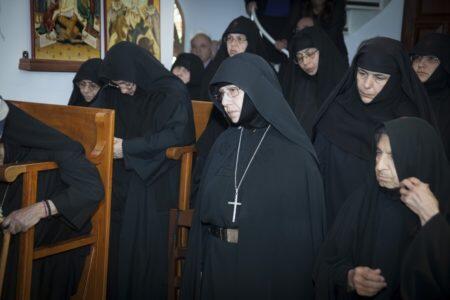Ενθρόνιση Ηγουμένης στην ιερά μονή Παναγίας Σφαλαγγιώτισας
