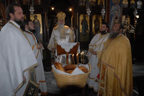 Λαμπρή Πανήγυρις στην Μονή Παναγίας της Γοργοεπηκόου Ψαχνών