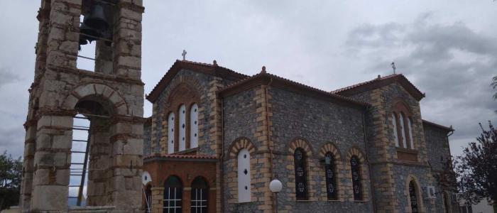 Ολοκληρώθηκαν οι εργασίες αποκαταστάσεως του Ναού του Αγίου Ιωάννου του Προδρόμου Σκάρφειας