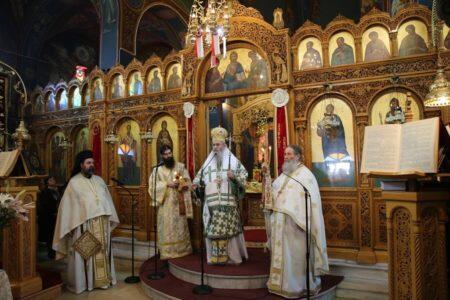 Κυριακή της Σαμαρείτιδος στον Ιερό Ναό Αγίου Νικολάου Αντιρρίου