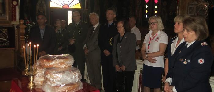 Λαμία: Ο Ερυθρός Σταυρός και το Ορφανοτροφείο Θηλέων εόρτασαν τον προστάτη τους Ιωάννη τον Θεολόγο
