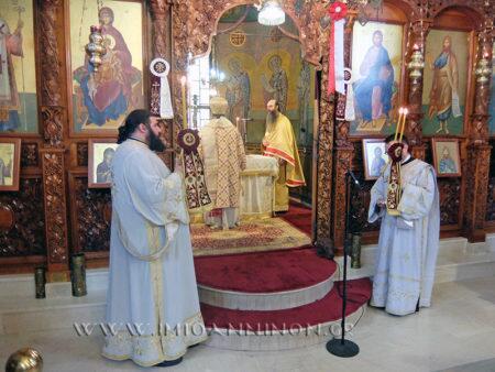 Ιωάννινα: Θεία Λειτουργία στον Ιερό Ναό Αγίου Σεραφείμ και Αγίων Αποστόλων