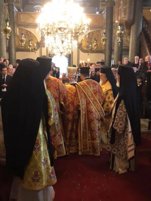 Φανάρι: Εις Διάκονον χειροτονία του νέου Μοναχού Αλεξάνδρου Κούτση