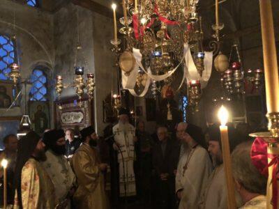 Εορτή Αγίου Νικολάου του Νέου στην Ιερά Μονή Αγίου Νικολάου Καμπιών