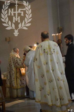 Αρχιερατική Θεία Λειτουργία στον Πανηγυρίζοντα Ι.Ν.Αγίας Φωτεινής Ευόσμου