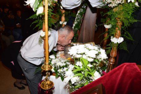 Λεμεσός: Πλήθος πιστών προσκύνησε την Τίμια Κάρα της Οσίας Υπομονής