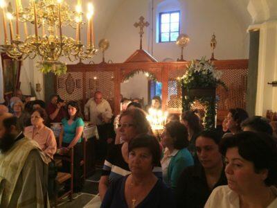 Νάξος: Με λαμπρότητα τιμήθηκε η μνήμη της Αγίας Ειρήνης