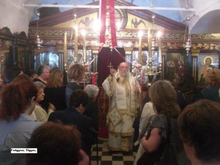 Νάξος: Κυριακή του Τυφλού στον Ενοριακό Ναό Αγίου Χαραλάμπους