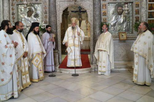 Πάρος: Λαμπρή Εορτή των Αγίων Κωνσταντίνου και Ελένης στο Προσκύνημα της Εκατονταπυλιανής