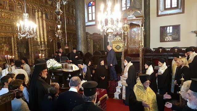 Φανάρι: Η Εξόδιος Ακολουθία του Μακαριστού Μητροπολίτη Πέργης Ευάγγελου