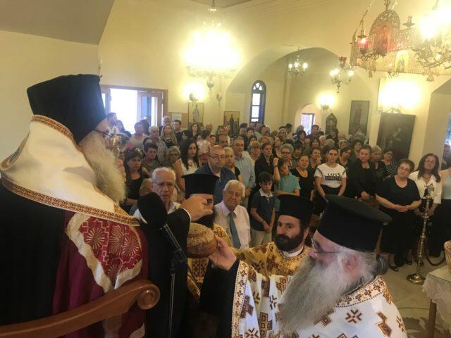 Κωνσταντίνου και Ελένης – γιορτή: Εσπερινός στον πανηγυριζόντα Ι. Ναό Αγίων Κωνσταντίνου και Ελένης Γρα-Λυγιάς