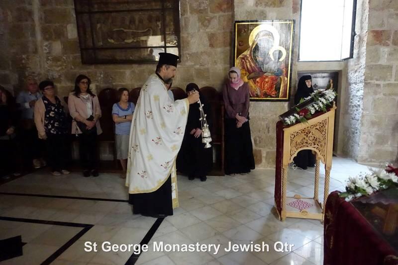Η Εορτή του Αγίου Γεωργίου στο Πατριαρχείο Ιεροσολύμων