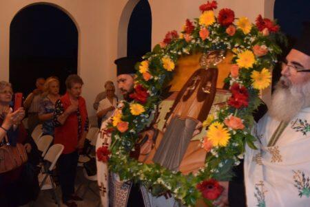 Με λαμπρότητα ο εορτασμός του Αγίου Νεομάρτυρος Γεωργίου στη γενέτειρά του