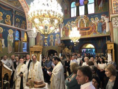 Μητρόπολη Θηβών: Εορτή της Αναλήψεως του Κυρίου