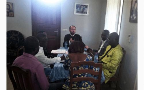 Σύσκεψη των μελών του Μητροπολιτικού Συμβουλίου της Ιεράς Μητροπόλεως Μπραζαβίλ
