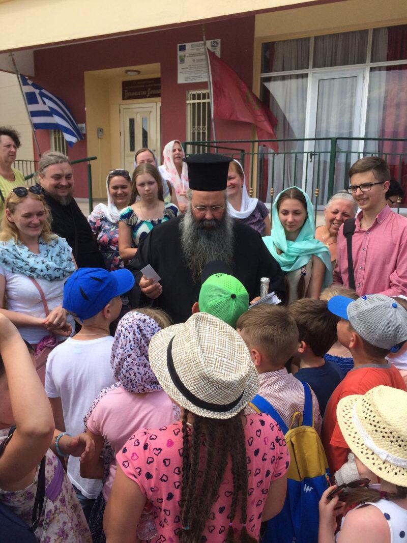 Ξεκίνησε στην Μητρόπολη Κίτρους η «φιλοξενία αγάπης» για παιδιά και νέους από ομόδοξες χώρες