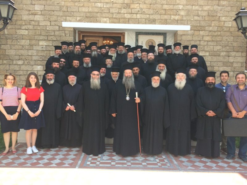Στη Βέροια κληρικοί της Ιεράς Μητροπόλεως Κίτρους