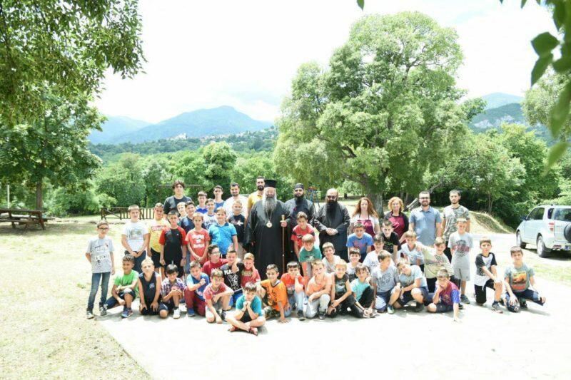 Ξεκίνησε η φιλοξενία παιδιών από ολόκληρη την Πιερία στο Μοναστήρι Αγίου Γεωργίου Ρητίνης