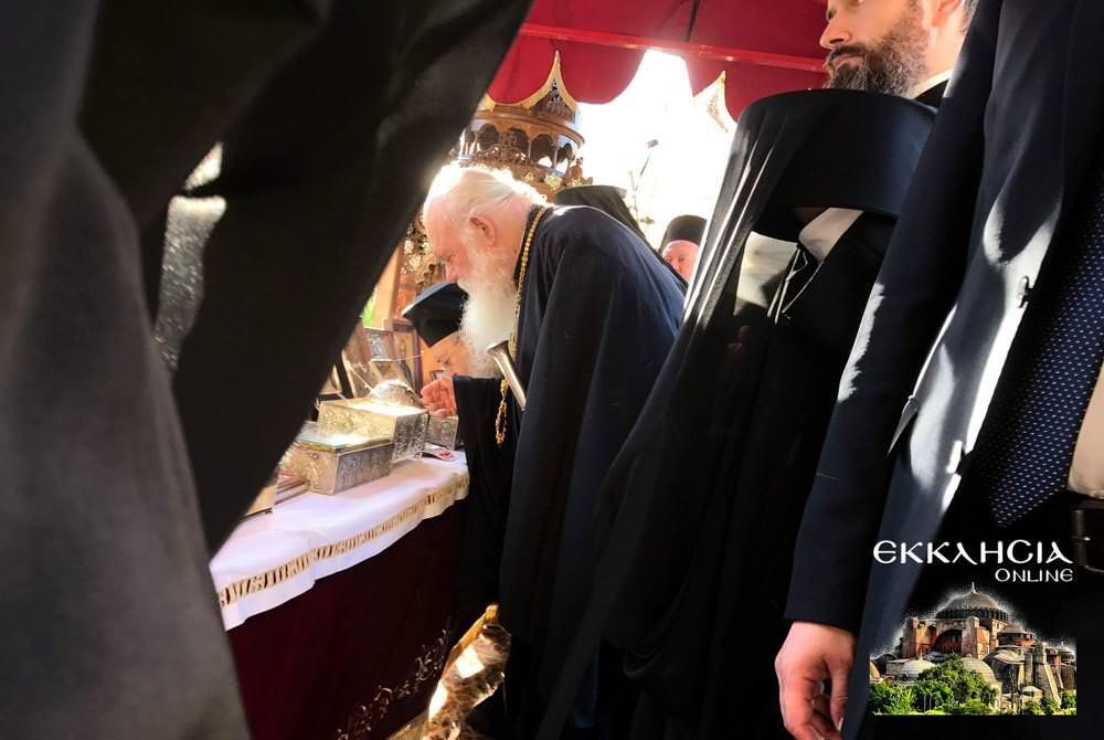 Αρχιεπίσκοπος Ιερώνυμος εορτή Αποστόλων Πέτρου και Παύλου