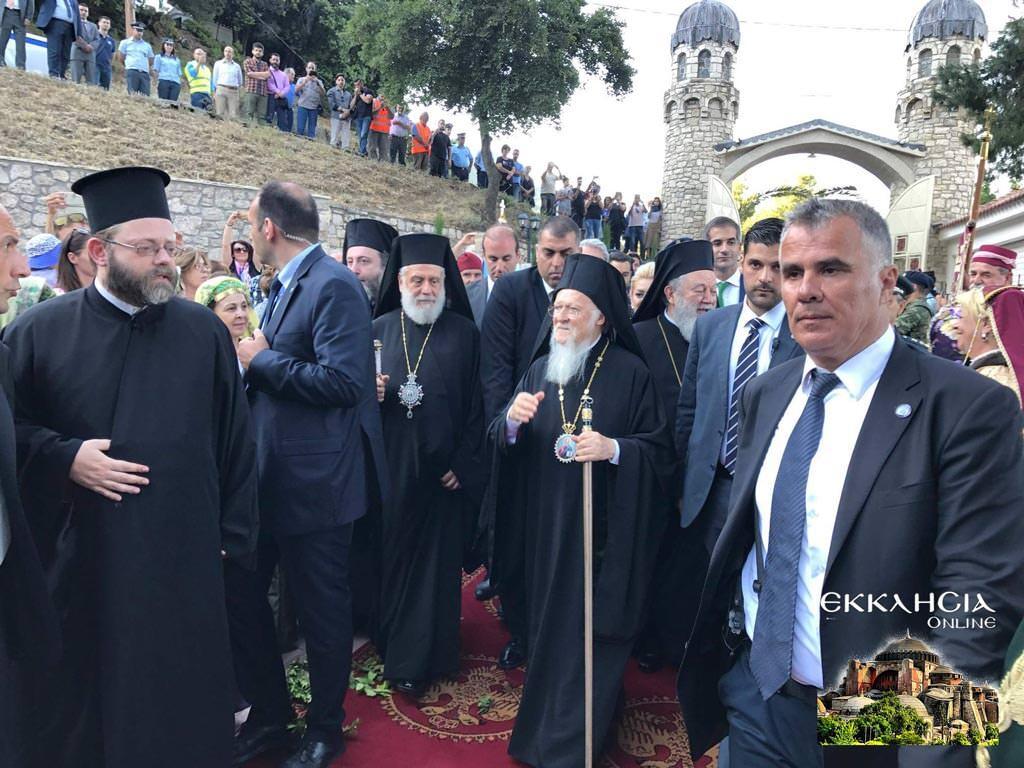 Παρτιάρχης Βαρθολομαίος αγιοκατάταξη άγιος ιάκωβος τσαλίκης
