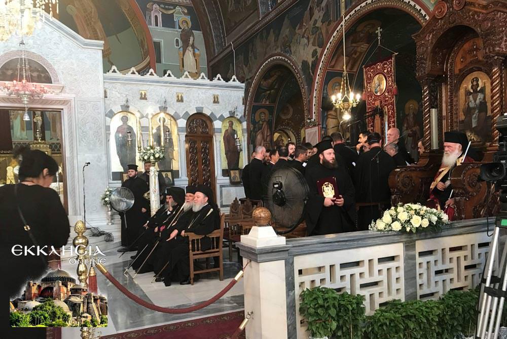 Αρχιεπίσκοπος Ιερώνυμος εορτή Πέτρου Παύλου