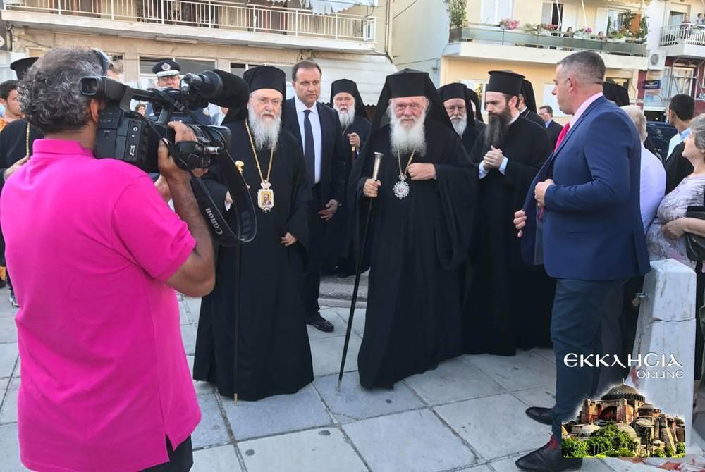 Αρχιεπίσκοπος Αθηνών Ιερώνυμος εορτή Αποστόλων Πέτρου και Παύλου