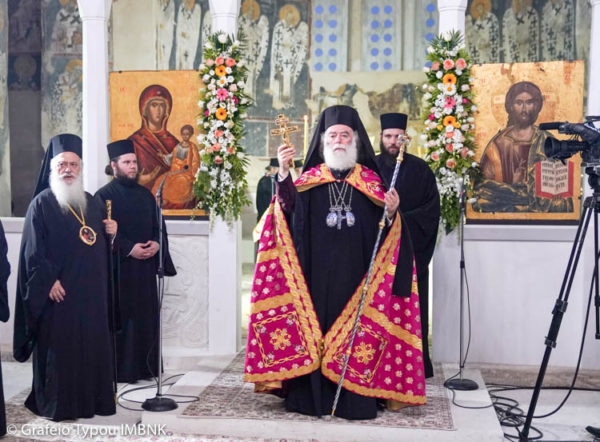 ΠΕΤΡΟΥ ΚΑΙ ΠΑΥΛΟΥ: Πατριαρχικός Εσπερινός στον παλαιό Ι.M.Ν. Παύλου και Πέτρου Βεροίας