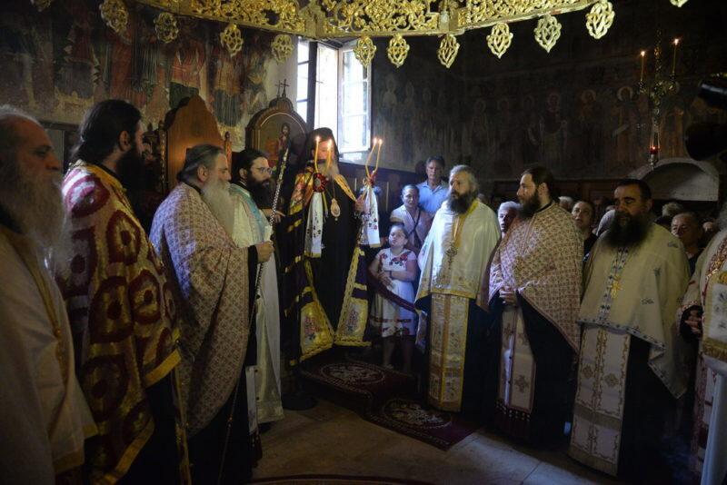 Εόρτασε η Ιερά Μονή Αγίων Πάντων Τριταίας Πατρών