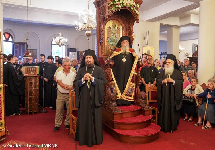 Άγιος Λουκάς ο Ιατρός: Πολυαρχιερατικός Εσπερινός στην I.Μονή Παναγίας Δοβράς Βεροίας