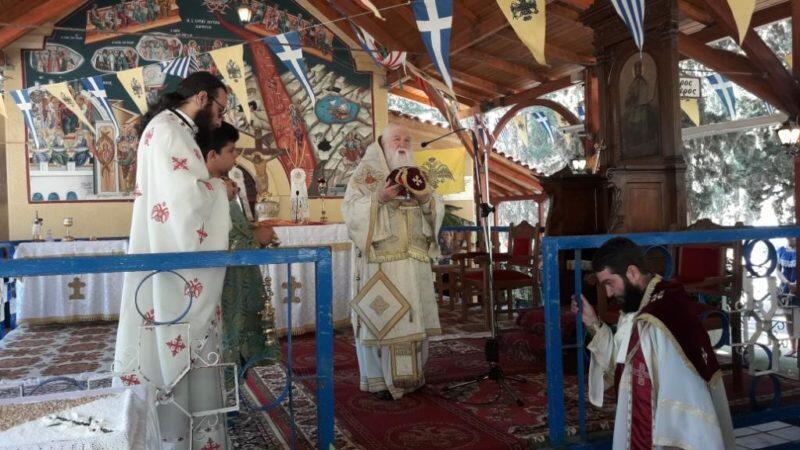 Αίγιο: Ο εορτασμός των Αγίων Πάντων στο κοιμητήριο